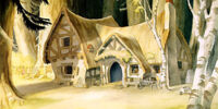 The Seven Dwarfs' Cottage