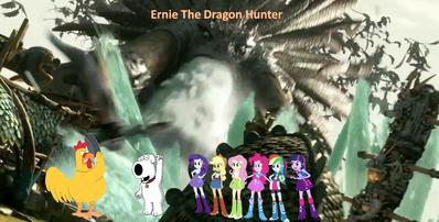Ernie the dragon hunter