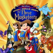 Simba, Timon and Pumbaa's Adventures of The Three Musketeers poster