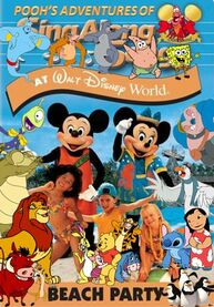 Pooh's Adventures of Beach Party at Walt Disney World Poster