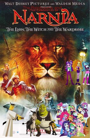 File:The Rainbooms and The Chronicles of Narnia- The Lion, the Witch, and the Wardrobe.jpg