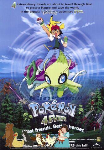 File:Little Bear's Adventures of Pokémon 4Ever.jpg