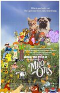 Winnie the Pooh in The Adventures of Milo & Otis Poster