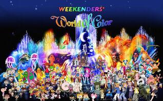 Weekenders' World of Color Poster