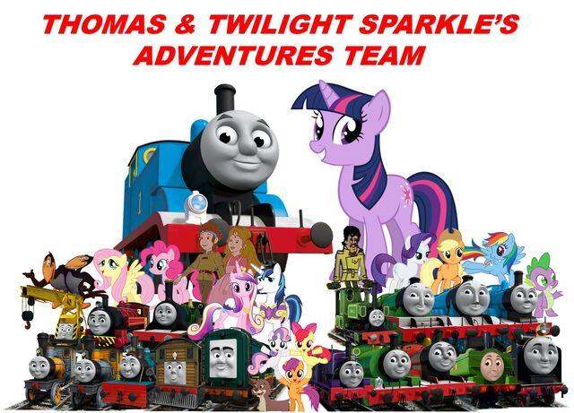 File:Thomas and Twilight Sparkle's Adventures Team Poster.jpg