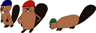 Timber, Splinter, and Chomper