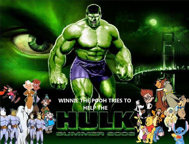 File:Winnie The Pooh Tries to Help The Hulk poster.jpg
