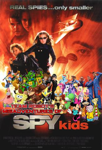 File:Team Robot's Misadventures of Spy Kids Poster.png