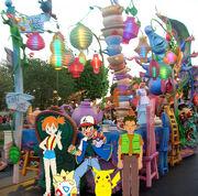 Alice in Wonderland Float
