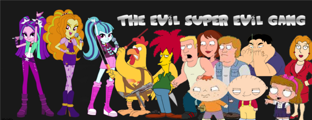 File:The Super Evil Gang (With the Dazzlings).png