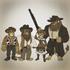Ben, Leonardo, John, and Rhea