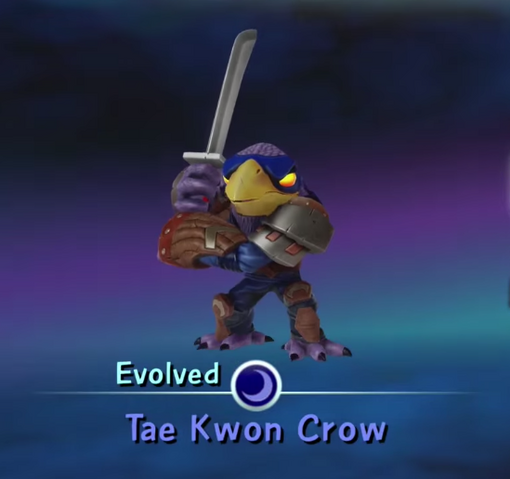 File:Tae Kwon Crow (Evolved).png