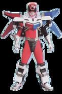S.P.D. Red Ranger Battlizer (Sonic Mode)