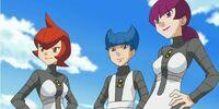 Team Galactic (Mars, Jupiter and Saturn)