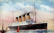 Britannic postcard