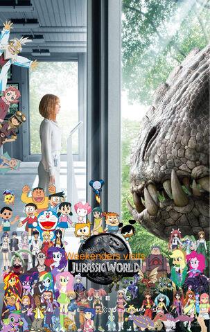 File:Weekenders visits Jurassic World-2.jpg