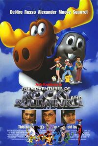 Ash Ketchum in The Adventures of Rocky and Bullwinkle Poster