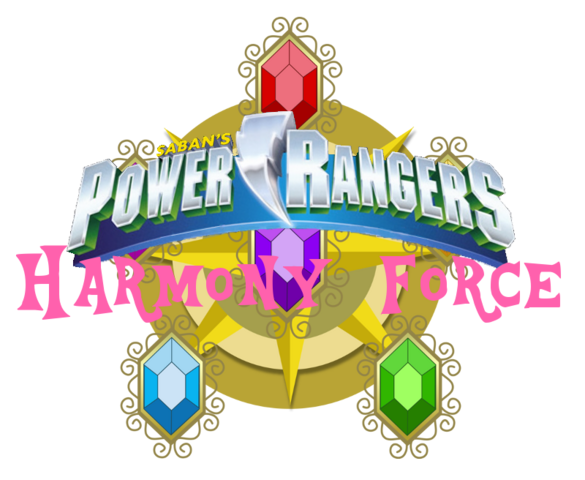 File:Power Rangers Harmony Force Logo.png