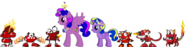 Lilly Sparkle Rose, Twila and the Infernites