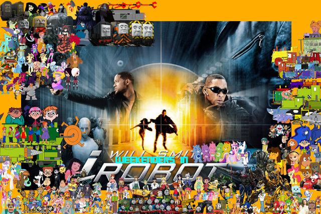 File:Weekenders in I, Robot (Redo poster).jpg