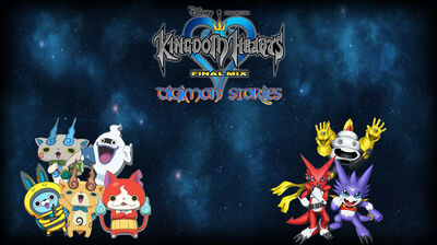 Kingdom Hearts (Digimon Stories) Poster (Redo)