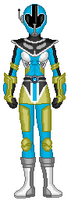 11. Aqua Data Squad Ranger
