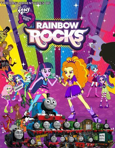 File:Thomas' Adventures of My Little Pony Equestria Girls - Rainbow Rocks Poster.jpg