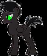 Splatter as a pony