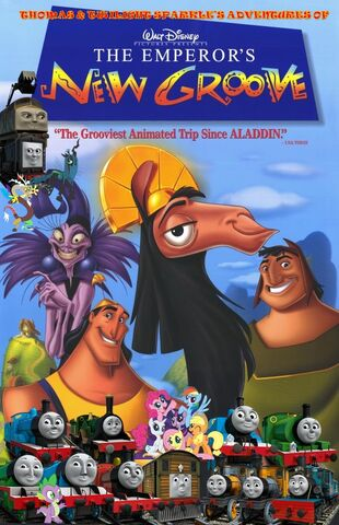 File:Thomas and Twilight Sparkle's Adventures of The Emperor's New Groove Poster.jpg