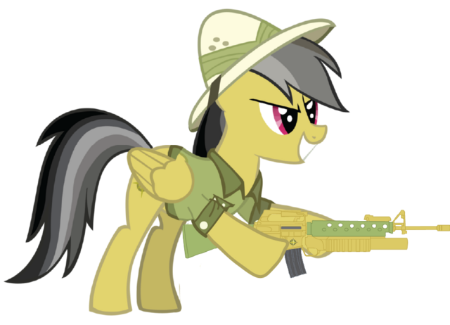 File:Daring Do with her M16.png