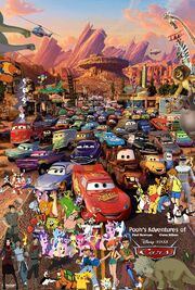 Pooh's Adventures of Cars Poster