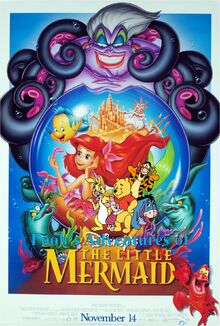 Pooh's Adventures of The Little Mermaid Poster 2-0