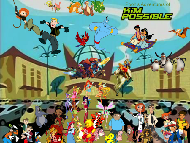 File:Pooh's Adventures of Kim Possible Season 1 Poster (Magic Winx).png