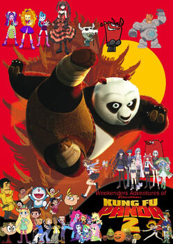 Weekenders Adventures of Kung Fu Panda 2