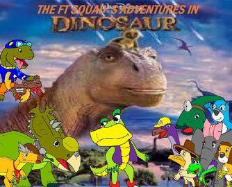 The FT Squad's Adventures in Dinosaur