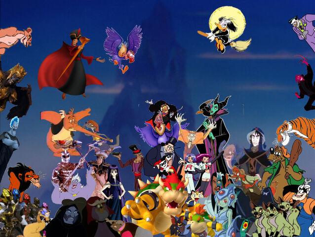 File:Pooh Chronicles Villians Poster.jpg