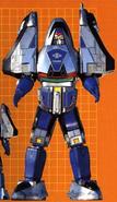 Time Force Megazord (Mode Blue)
