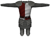 Red and White Tabard Plate Armor