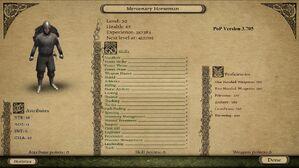 Mercenary Horseman 3.705