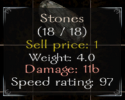 Stones Stats