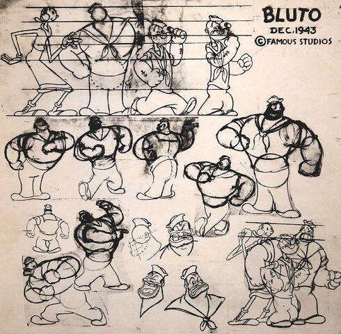 File:Bluto Model Sheet 1943.jpg