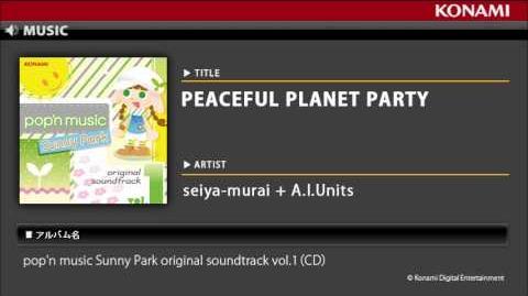 PEACEFUL PLANET PARTY pop'n music Sunny Park original soundtrack vol