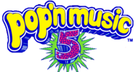 Pop'n Music 5 logo