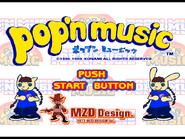 Pop'n Music Opening Screen
