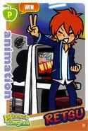 Retsu Win Card