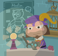File:A Painting of Mordred Making Merlin.png