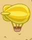 Poptropica Blimp on the Map