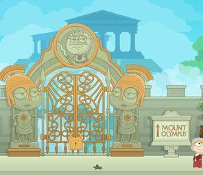 Mount Olympus gates