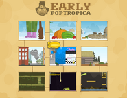 Early Poptropica Island Map