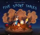Pięć krótkich stołów